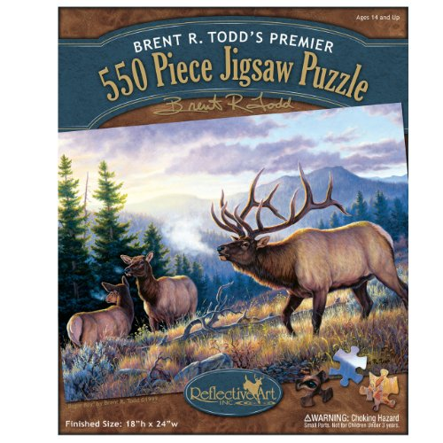 Elk Jigsaw Puzzle, 550-Piece