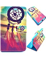 Voguecase® Etui Housse Flip Cuir Portefeuille Case Cover Pour Nokia Lumia 625(campanule)de Gratuit stylet l'écran aléatoire universelle