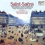 echange, troc  - Melodies Sans Paroles (Transcriptions Pour Hautbois & Piano)