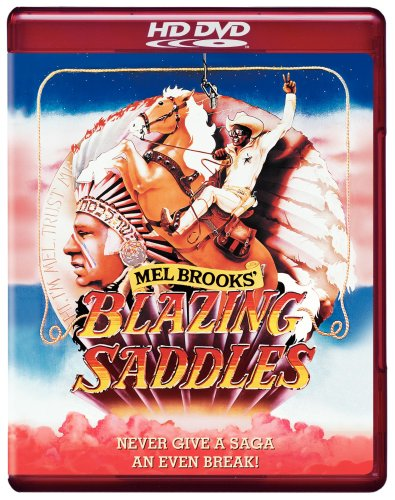 Cover art for  Blazing Saddles [HD DVD]