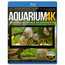 Aquarium 4K - The Amazing World Of Diskus Fish [Blu-ray]