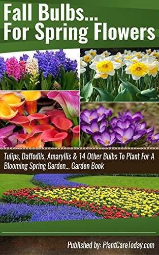 Fall Bulbs For Spring Flowers: Tulips, Daffodils, Amaryllis & 14 Other Bulbs To Plant For A Blooming Spring Garden… Garden Book