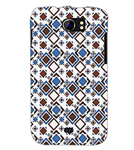 PrintDhaba Pattern D-5238 Back Case Cover for MICROMAX A110Q CANVAS 2 PLUS (Multi-Coloured)