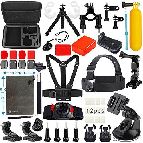 vanwalk-kit-de-accesorios-dundle-para-camara-gopro-hero5-hero4-hero3-hero-3-hero-2-black-silver-sjca