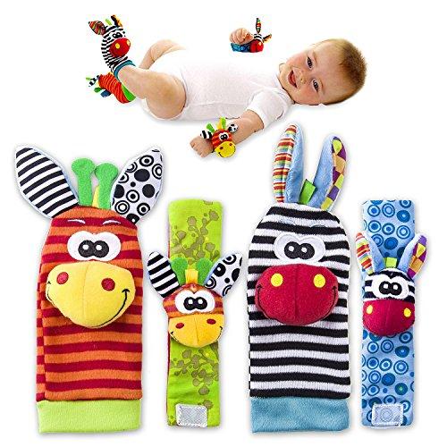 value-makers-rattle-giocattoli-per-bambini-infantile-sveglio-degli-animali-4-pezzi-2-pezzi-di-vita-e