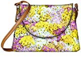 Snoogg Dreams Fields Flower Designer Womens Carry Around Sling Bags