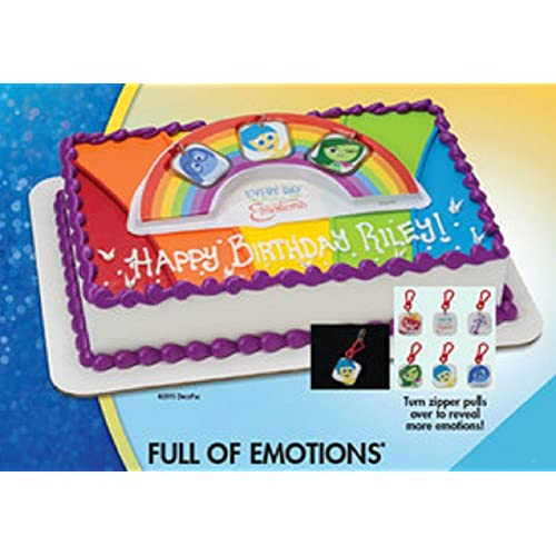 Disney Pixar - Inside Out - Full of Emotions Cake Topper
