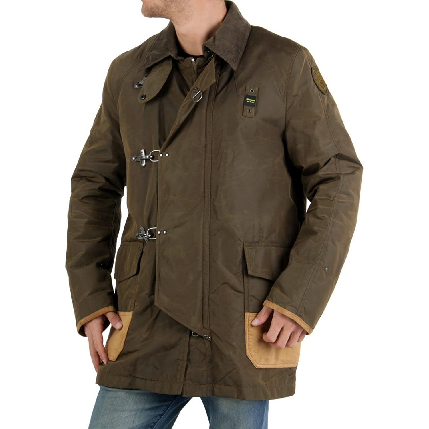 BLAUER USA Herren Jacke Boston Mass. Army BLU0383