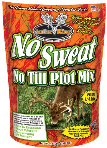Lowest Price! Antler King No Sweat No Till Plot Mix