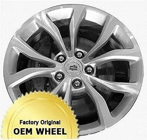 CADILLAC ATS 18×8 5 V-SPOKE Factory Oem Wheel Rim- MACHINED GREY – Remanufactured