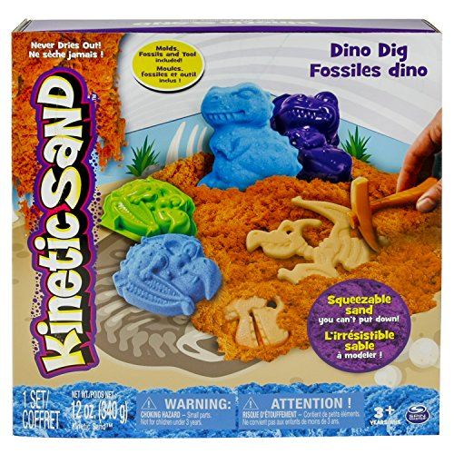 Spin Master - Arena cinética y 2 dinosaurios moldes (778988204870)