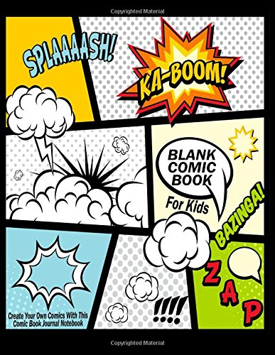 blank-comic-book-for-kids-create-your-own-comics-with-this-comic-book-journal-notebook-over-100-page