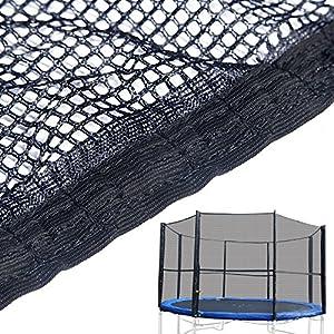 Filet de protection de remplacement pour trampoline 365 cm - Sans armatures