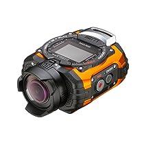 【特価】 RICOH 水深10m防水 防水アクションカメラ WG-M1 オレンジ WG-M1 ...