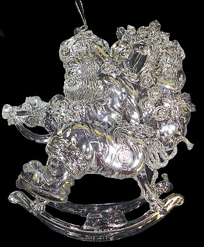 Heirloom Rocking Horse Ornament