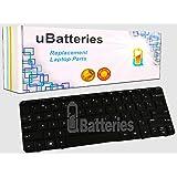 UBatteries Compatible Laptop Keyboard Replacement For HP Mini 110-3000 110-3100 110-3500 110-3600 110-3700 110-3800 606618-031 SG-36500-2BA LKB-HC36B - (Black)