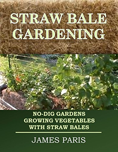 Free Kindle Book : Straw Bale Gardening: No-Dig Gardens Growing Vegetables With Straw Bales