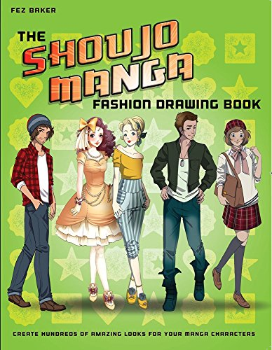 The Shoujo Manga Fashion Drawing Book: Create Hundreds of Amazing Looks for your Manga Characters (Drawing Shoujo Manga compare prices)