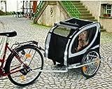 TEFLON® Hundefahrradanhänger Fahrrad Anhänger Fahrradanhänger Große Hunde Buggy Hundebuggy XL Bis 50 KG