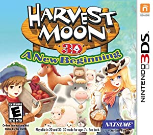 Harvest Moon 3D: A Beginning - Nintendo 3DS from Solutions 2 Go