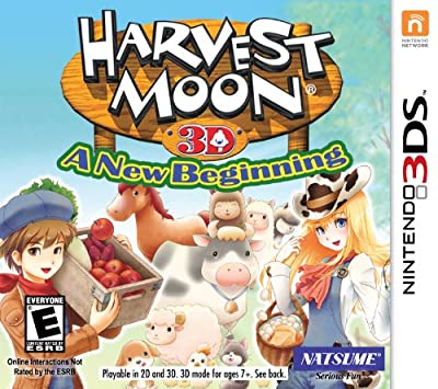 Harvest Moon 3D: A Beginning