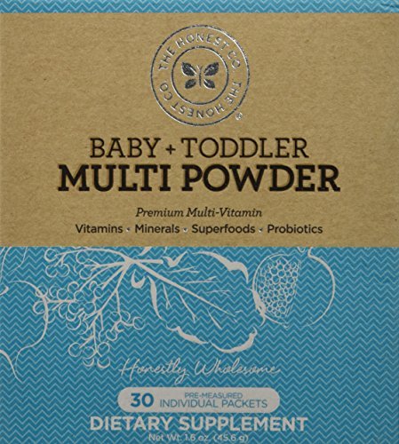 The Honest Company Baby & Toddler Multi Powder 30 packets