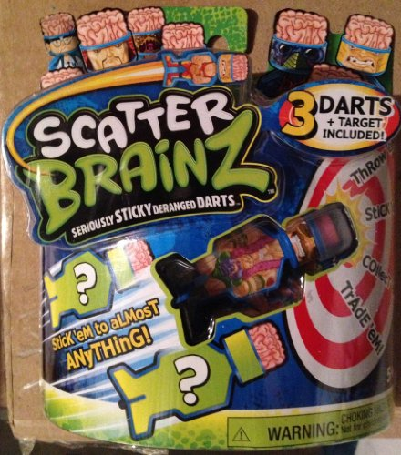 Scatter Brainz 3 Pack of Darts Half Nelson & 2 Mystery Darts