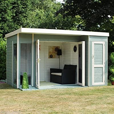 Contemporary Timber Summerhouse 12x8 OGD070