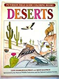 Field Guide Coloring Book DESERTS: (Peterson Field Guide Coloring Books) (0395670861) by Kaufman, Kenn