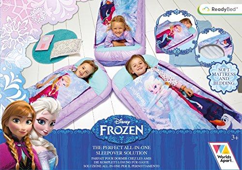 Worlds Apart 865265 Moderne Lit d'Appoint Disney La Reine des Neiges Textile Mauve 150 x 62 x 20 cm