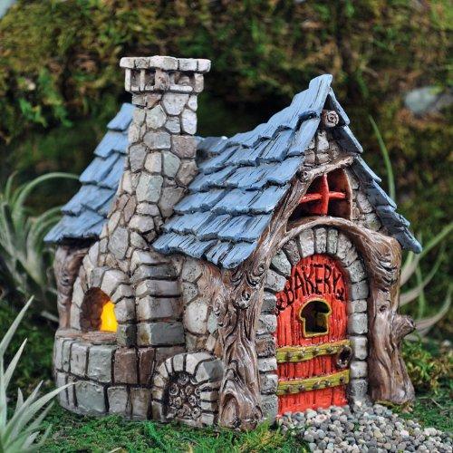 "Fairy (House / Home) Garden Village Bakery, 5.5"" Tall"