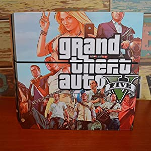 GOOOD PS4 Designer Skin Decal for PlayStation 4 Console System and PS4 Wireless Dualshock Controller - Grand Theft Auto V