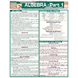 Algebra Part 1 (Quickstudy: Academic)