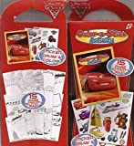 Disney Cars Color n Stick Activity Set