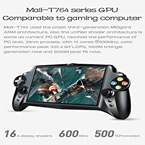 ALRY Handheld Game Player,7 Inch 1920X1200 Quad Core 4G/64GB New Gamepad 10000Ma Android 5.1 Tablet PC Video Game Console