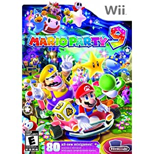 Mario Party 9 Wii Video Game