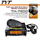 TYT TH-7800 50W Dual Band Dual Display Repeater Car Truck Ham Radio