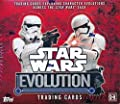 2016 Topps Star Wars Evolution HUGE Factory Sealed HOBBY Box with 24 Packs! Includes TWO(2) HIT Cards of Either Single, Dual & Triple Autographs, Patch Cards, Sketch Cards & Printing Plates! Loaded!