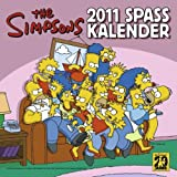"Simpsons Wandkalender 2011: Simpsons 2011 Spa�kalendervon ""Panini"""