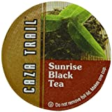 Caza Trail Tea, Sunrise Black Tea, 24 Single Serve Cups