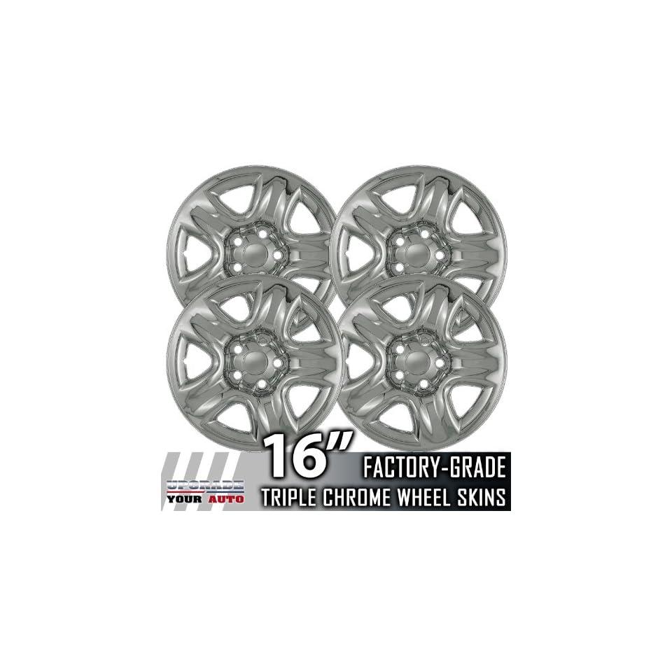 05 10 SUZUKI GRAND VITARA 16 Chrome Wheel Skin Covers