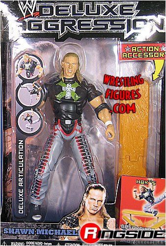Buy Low Price Jakks Pacific W Deluxe Aggression Series 10 Action Figure + Action Accessory – Shawn Michaels (B0014F556E)
