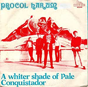 A whiter shade of pale/Conquistador (1967, RI, #int111.301) / Vinyl single [Vinyl-Single 7'']