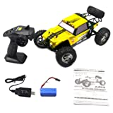 HBX 12889 1/12 2.4G 26km/h 4WD RC Truggy Thruster Off Road Desert Truck Two Speed Mode RC Car Toys For Children - Orange (Color: Orange, Tamaño: 1 Size)