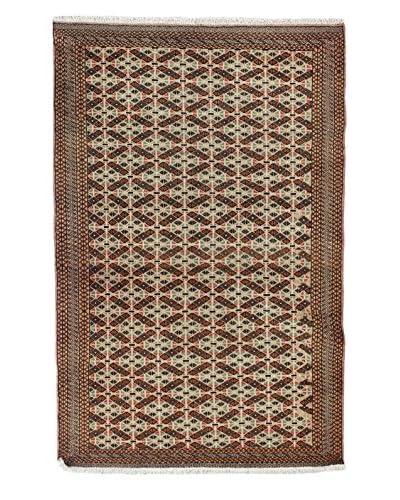 Bashian Belouj Hand-Knotted Rug, Beige, 4′ 2″ x 6′ 4″