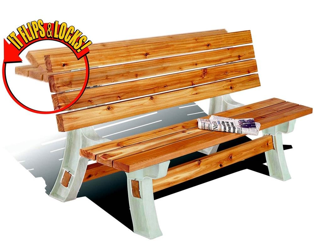 Hopkins flip top bench table free shipping for Table rrq 2015 52