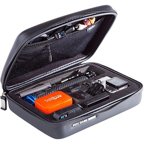 SP Gadgets POV - Custodia Elite Medium per GoPro - Nero