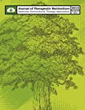 img - for AHTA Journal of Therapeutic Horticulture Volume XXV Issue I (Volume 25) book / textbook / text book