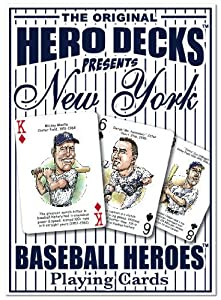 Hero Decks - York Yankees - Playing Cards by Channel Craft