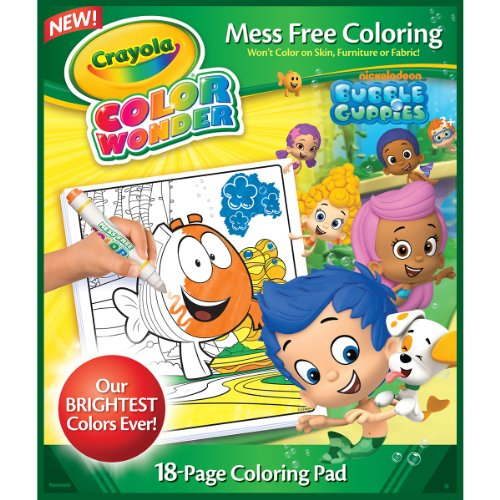 Crayola Bubble Guppies Color Wonder Refill Book - 1